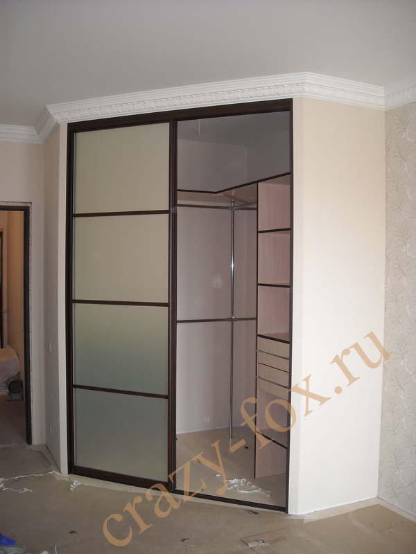 Двери для шкафа купе из гипсокартона своими руками