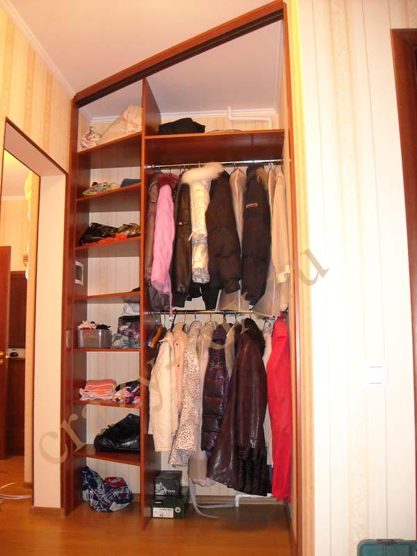 Угловые шкафы-купе своими руками фото